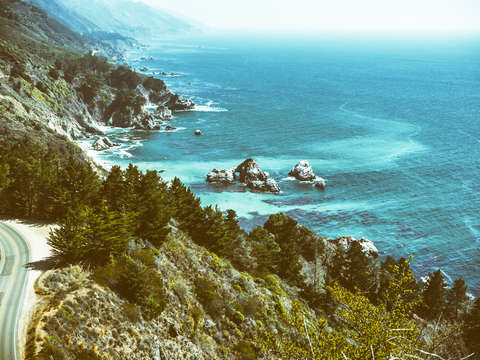 Cruising along big sur