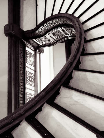 Rookery stairs angle