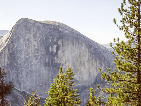 Half dome from north dome 1