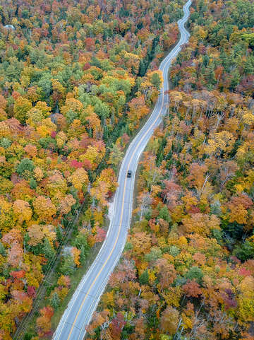 Route 42 aerial vertical