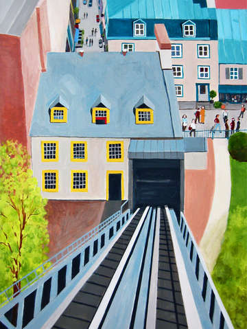 Funicular quebec city