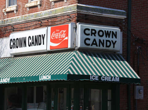 Crown candy in old north st louis
