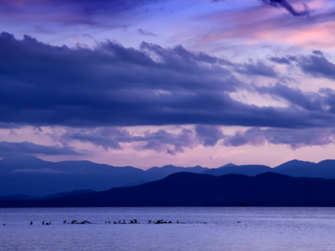 Lake champlain and the adirondacks