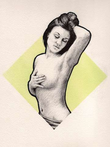 Untitled Nude (green)