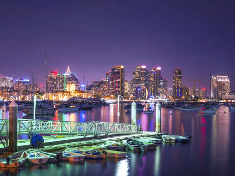 The most colorful night in san diego