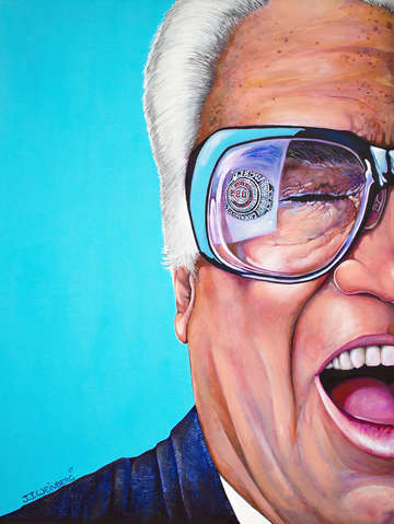 Reflections harry caray