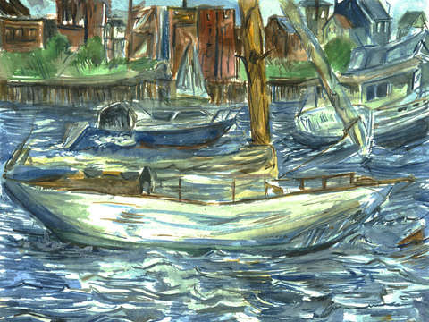 Long wharf boats ii