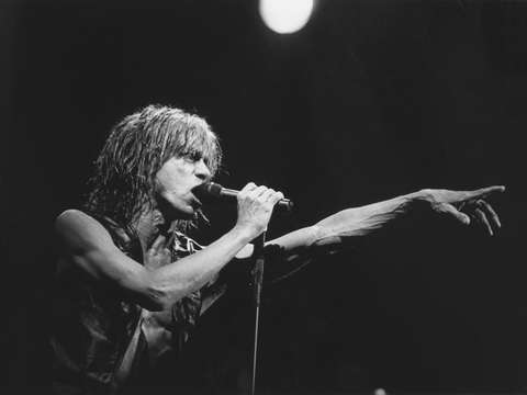 Iggy pop live at san franciscos fillmore auditoriu