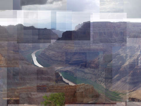Grand canyon view from guano point
