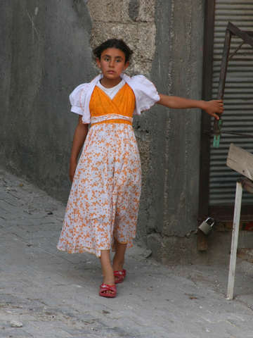 Kurdish girl, Sanliurfa, Turkey