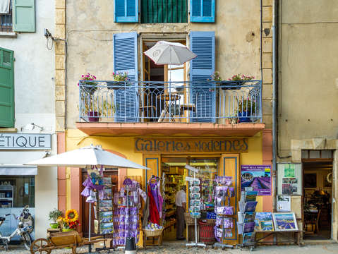 Lavender shop in provence
