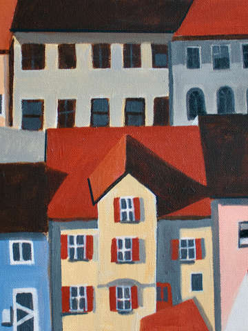 Row of houses bavaria 2