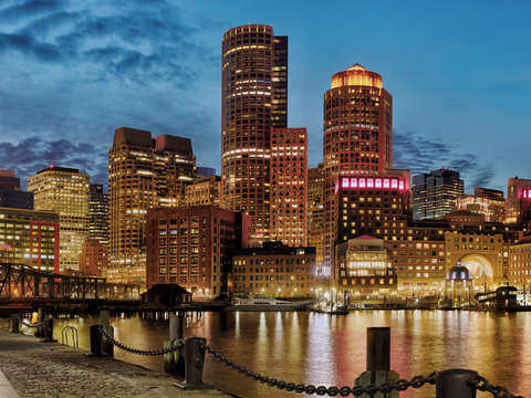 Boston skyline 6