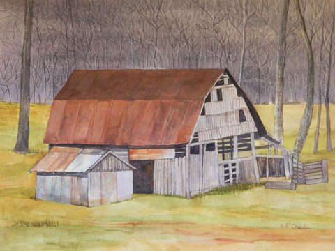 Izard county barn