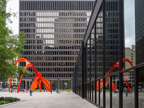 Calder reflections chicago