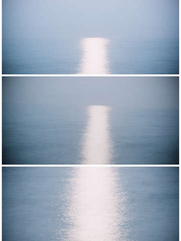 A moons light in triptych