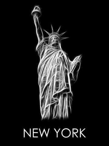 Statue of liberty fractal