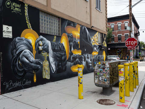 Biggie in bushwick brooklyn nyc
