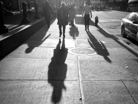 Our shadows taller than our souls