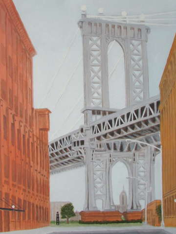 Manhattan bridge 8