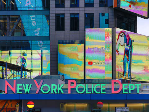 Times square police department nyc
