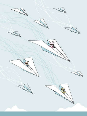 Paper airplane air force