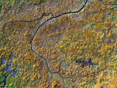 Abstract aerial landscape ii