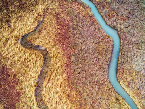 Abstract aerial landscape v