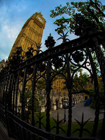 Big ben fisheye