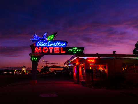Blue swallow motel new mexico