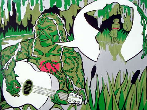 Song of the swamp thing