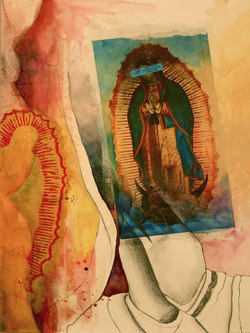 The Lady of Guadalupe Makes me Dizzy