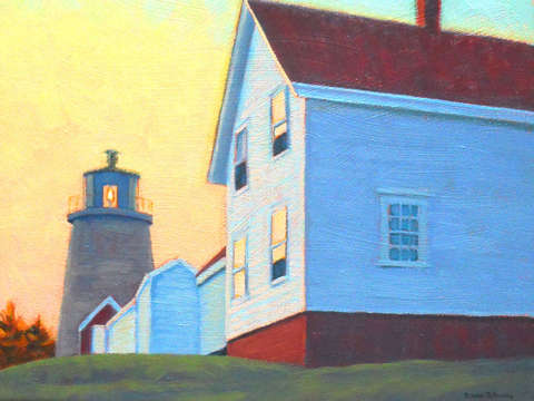Sunrise on monhegan