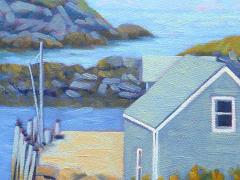 Monhegan dock