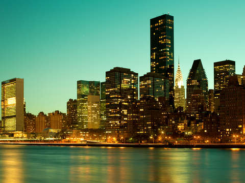 Skyline of midtown manhattan