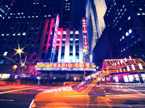 Radio city night