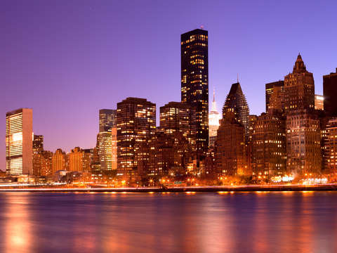 Cityscape of manhattan