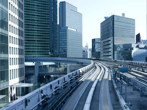 Yurikamome elevated monorail