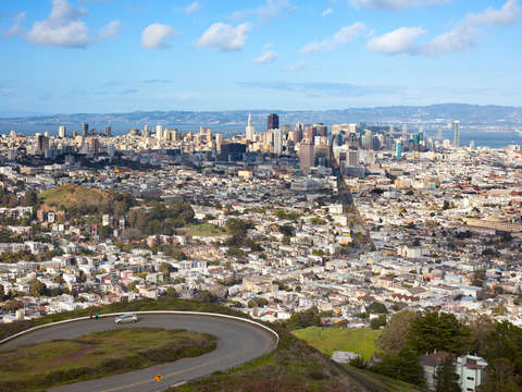 Cityscape of san francisco 2