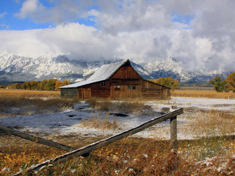Old Teton Barn