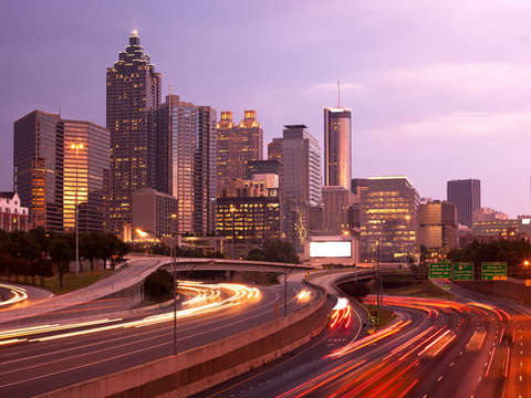 Cityscape of atlanta 2