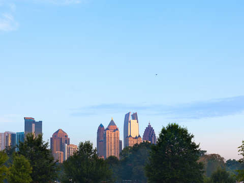 Skyline of atlanta
