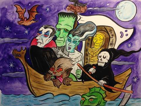 Ship of ghouls