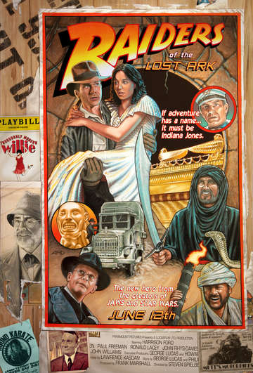 Raiders of the lost ark circus style