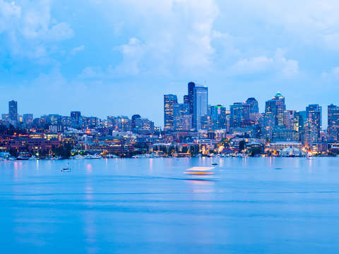 Lake union in seattle 2