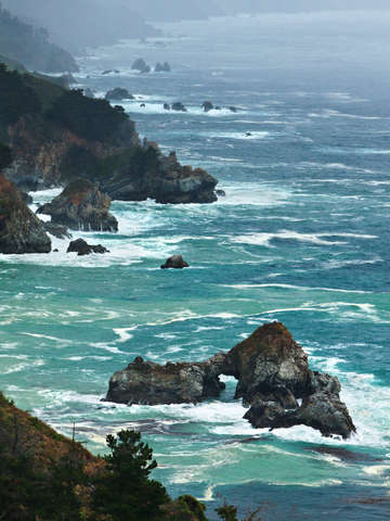 Big Sur Sea Arch