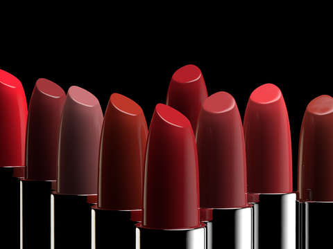 Lipsticks of different colors