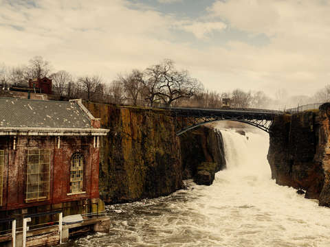 Great falls passaic river