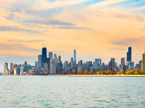 Skyline of chicago 2