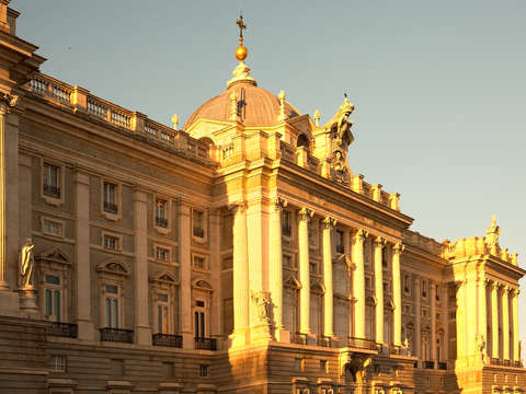 Royal palace in madrid 2